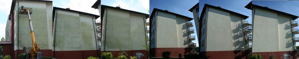 mycie elewacji w Gdańsku