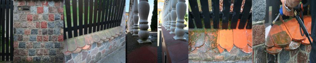 mycie, czyszczenie ogrodzeń www.myciedomow.pl