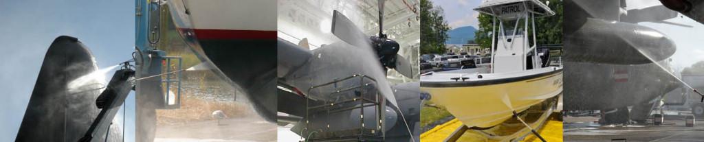 mycie, czyszczenie łodzi i samolotów www.myciedomow.pl