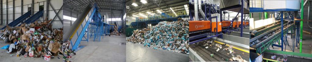 mycie, czyszczenie sortowni odpadów www.myciedomow.pl